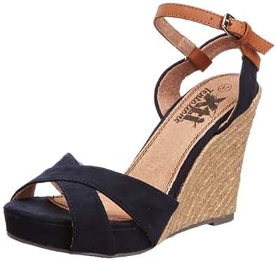 Xti Tentations  29244, Chaussures à talons femme - Bleu - Bleu marine, 35 (3 UK)