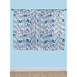 Olaf de Frozen cortinas [anchura - cm 167,64 (168 cm)] [gota - cm 137,16 (137 cm)]