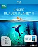 UNSER BLAUER PLANET II - (amazon Exklusiv-Version mit Poster) [Blu-ray] [Limited Collector's Edition]