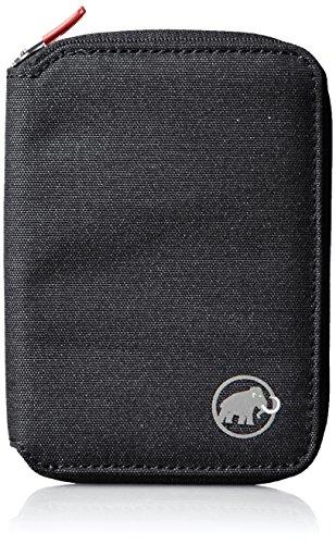 Mammut Geldbörse Zip Wallet Mélange, Black, 12 x 10 x 1 cm, 2520-00720-0001-1 (Zip-geldbörse)