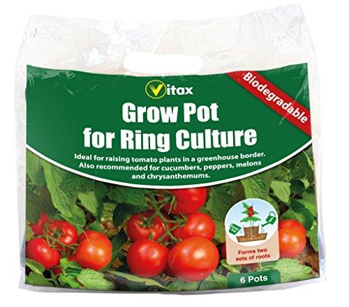 Vitax Cultivez Pots pour Square Culture Pack 6