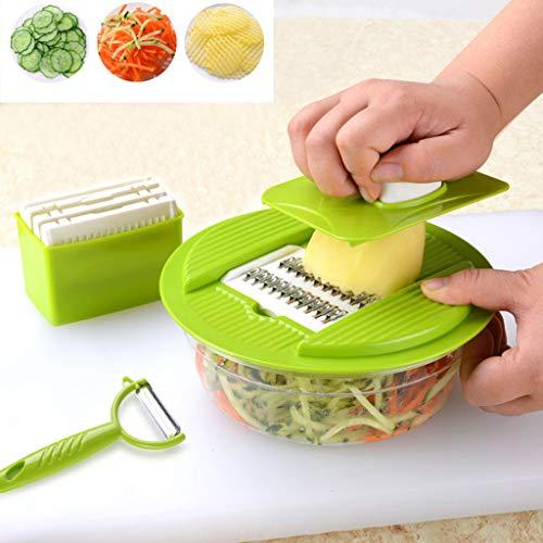 Mitlfuny -> Haus & Garten -> Küche,Schneidemaschine Cutter Chopper Pulp Fruit Vegetable Veg Peeler Dicer (Garten-chopper)