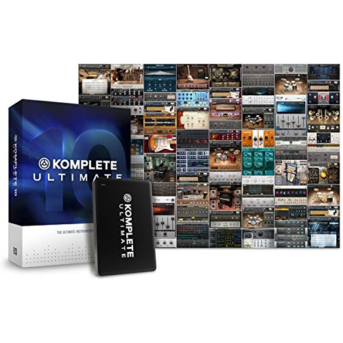Native Instruments Komplete 10 Ultimate – Paket von virtuellen Instrumenten