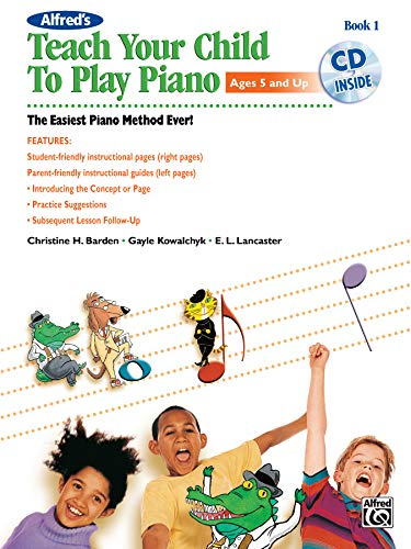 Alfred's Teach Your Child to Play Piano  |  Klavier  |  Buch & CD