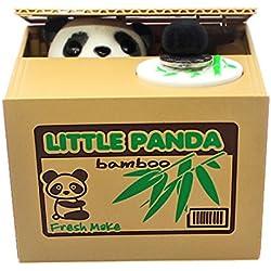 Hucha Panda Roba Dinero con Sonidos