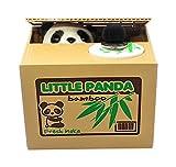 GIANCOMICS Robar el Dinero Huchas con Sonidos Travieso Huchas Divertido Infantil Electronica Coger Dinero Juguetes de los Niños Regalos Originales Diseño de Panda