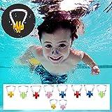 BEZZEE PRO Schwimmen Nase Clip (10 Stück) - Nasenklammer aus Silikon, Nasenschutz für...