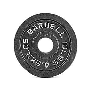 CAP Barbell 10 lb Black Olympic Weight Plate