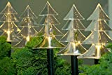 LED Balkon Leuchtstäbe 6er warmweiß 25cm F-H-S 14407