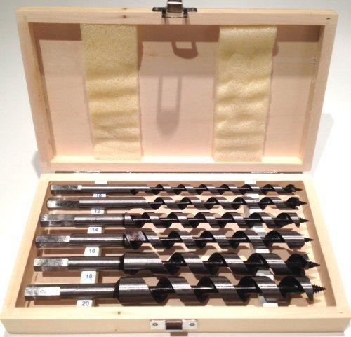 STHOR 22465 Holzbohrer, anpassbar, 10-20 x 230 mm, 6 Stück