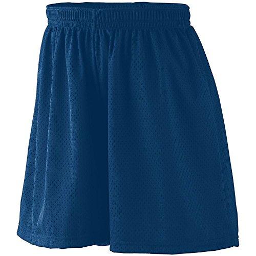 Augusta Sportswear Damen Ladies Tricot Mesh Short, Navy, XX-Large - Augusta Sportswear Mesh Shorts