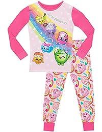 Shopkins - Pijama para niñas Ajuste Ceñido
