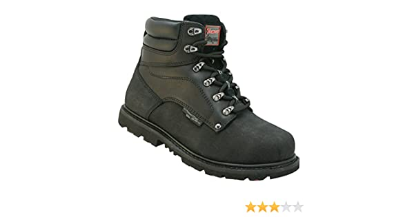 Dickies Graton Safety Steel Toe Cap Mens Nubuck Leather Work Boots UK6-12