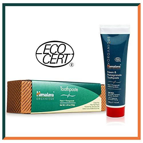 Neem & Pomegranate Toothpaste | Fluoridfreie Zahnpasta | Vegetarisch | 150g -