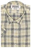 #5: Arihant Men's Checkered Half Sleeves Cotton Linen Regular fit Formal Shirt