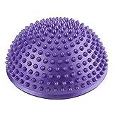 VGEBY1 Ballon de Massage pour Les Pieds, Yoga Semi-Ball Gonflable Massage Balance Point Fitball pour...