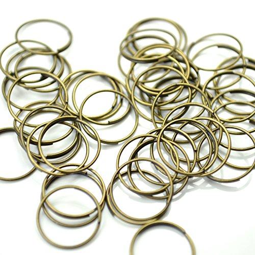 100pcs-chandelier-suncatcher-chrome-gold-bronze-bowtie-ring-connectors-antique-bronze-rings
