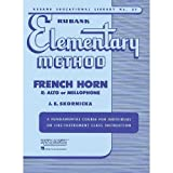 Rubank - Elementary Method: French Horn Eb Alto or Mellophone