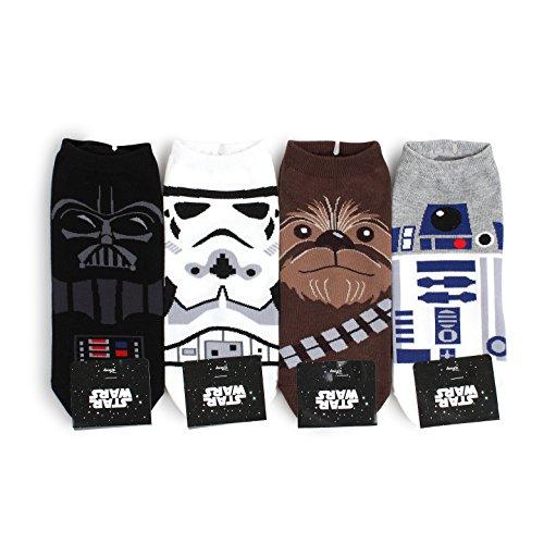 ks (nia 4 pairs) UK41-43.5 (Star Wars Socken)