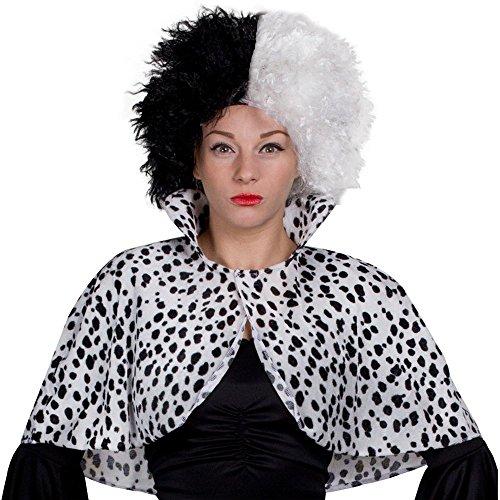 Fancy Handtaschen Kostüm Dress - ILOVEFANCYDRESS I Love Fancy Dress ilfd4042st Dalmatiner Print Cape (Standard)