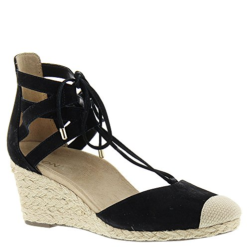 VIONIC with Orthaheel Technology Women's Calypso Black Suede 10 Medium -
