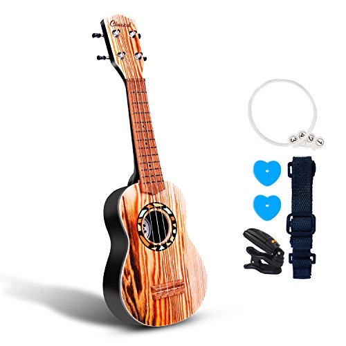53,3cm Gitarre Ukulele Spielzeug für Kinder Think Wing Playstation Kinder Musikinstrumente Bildungs-Spielzeug für Anfänger Starter 21