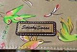 Leila Bird Womens Girls School Bag Print Satchel Bag School Bag in BEIGE