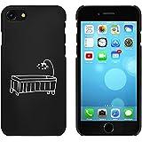 Negro 'Cuna' Funda / Carcasa para iPhone 7 (MC00073051)