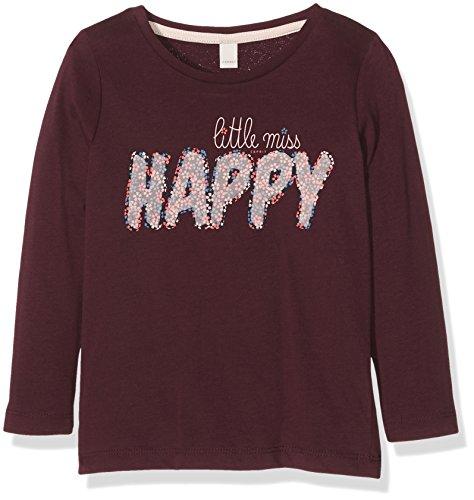 Esprit Kids Mädchen T-Shirt RI1013D, Rot (Bordeaux 600), 104/110cm