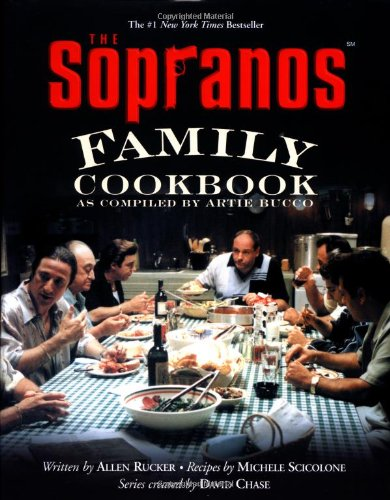 Click for larger image of 'The Sopranos' Family Cookbook