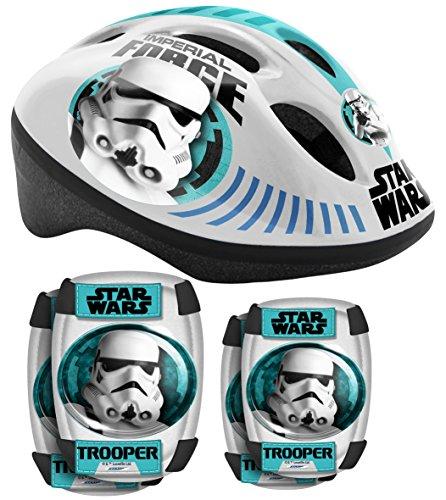 Stamp-sw190507-6-teiliges Protectoren-Star Wars-Helm und Knieschützer und Ellbogenschützer