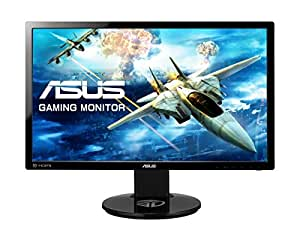 Asus VG248QE Gaming LED Monitor 24 Inch Gaming Monitor 3D Vision Ready Eye Care 1Ms response time & 144Hz Refresh Rate HDMI, DVI and display port