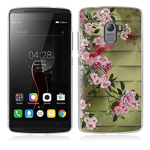 Lenovo K4 Note Hülle, Lenovo Vibe X3 Lite Hülle, Gift_Source [ Blume ] Hülle Case Transparent Weiche Silikon Schutzhülle Handyhülle Schutzhülle Durchsichtig TPU Crystal Clear Case Backcover Bumper Case für Lenovo Vibe K4 Note/A7010 /Vibe X3 Lite 5.5