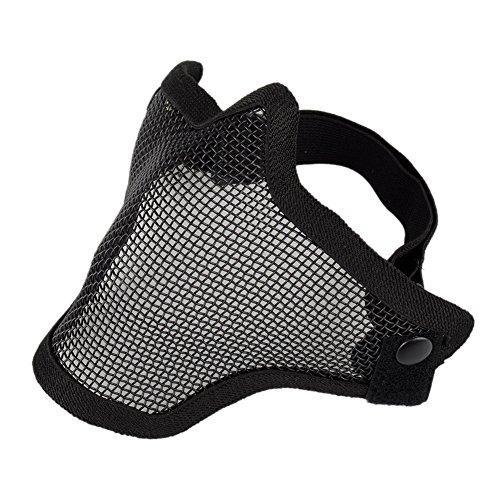oftentm-half-face-metal-mesh-net-masque-de-protection-exterieure-airsoft-masque-demi-noir-taille-uni