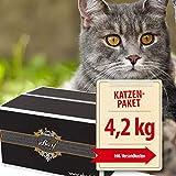 ebarf Katzen-Barf Komplett-Paket 4,2kg incl. Fix-Barf Komplett-Menüs Huhn/Rind, Geflügel, Rind/Pferd, Pute/Alaska-Seelachs und vieles mehr