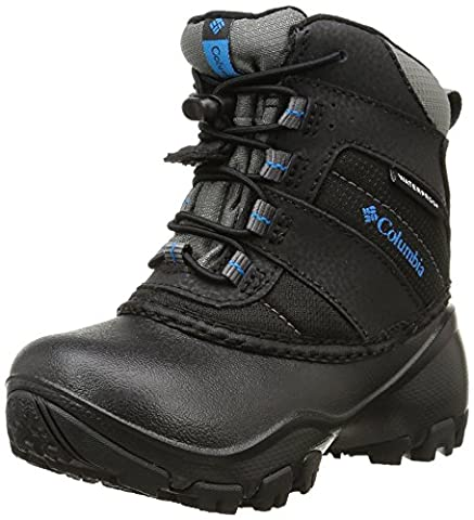 Columbia Jungen Childrens Rope Tow III Waterproof, Schwarz (Black/ Dark Compass), 31 EU (Columbia Kinder Schuhe)