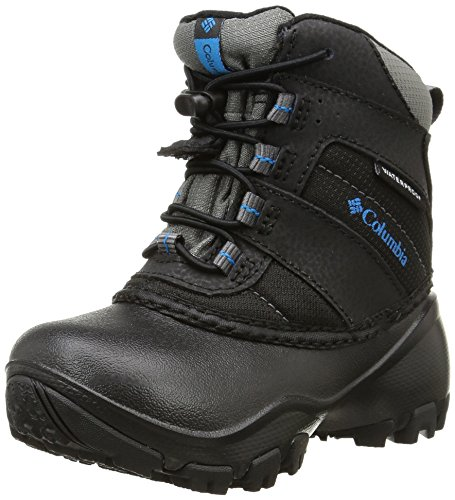 Columbia Rope Tow III, Chaussures Multisport Outdoor Mixte Enfant, Noir (010), 29 EU (UK Child 11 Enfant UK)