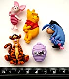 Disney Winnie the Pooh – Fantaisie Décorations Craft Boutons et en robe IT Up