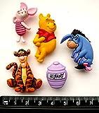 Disney Winnie the Pooh–Fantaisie Décorations Craft Boutons et en robe IT Up