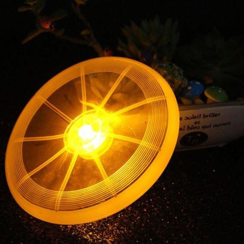 Als Direct Ltd ™ Glowing LED Frisbee ideal für Kinder Kinder Hund, gelb