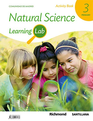 LEARNING LAB NATURAL SCIENCE MADRID ACTIVITY BOOK 3 PRIMARY