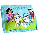 Doraemon - Cojín rectangular, 50 x 40 cm, color azul (United Labels 810666)