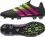 adidas Herren Fussballschuhe ACE 16.2 FG/AG CBLACK/SGREEN/SHOPIN 44