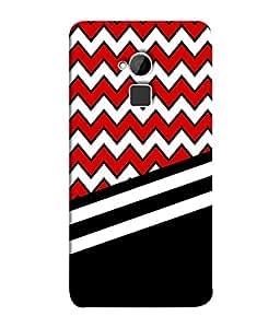 PrintVisa Black Damask Chevron 3D Hard Polycarbonate Designer Back Case Cover for HTC One Max :: HTC One Max Dual SIM