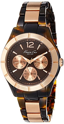 51vaDjTJGtL - Kenneth Cole Brown Mens IKC0003 watch