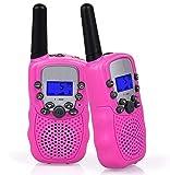 Flybiz Walkie Talkie Niños PMR446 8 Canales LCD Pantalla...