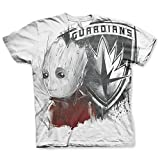 Guardians of The Galaxy Vol. 2 T-Shirt Groot, Allover Print (L)
