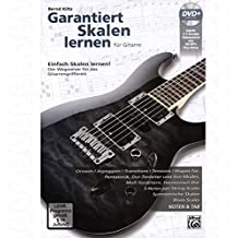 garantiza Escalas Aprendizaje – Arreglados para guitarra – con Tabulador – con DVD [de la