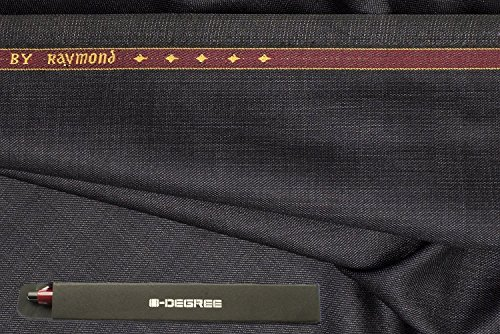 Raymond Quest Design Trouser Fabric 1Pc 1.3Meter Trouser Length for Men\'s Solid Grey