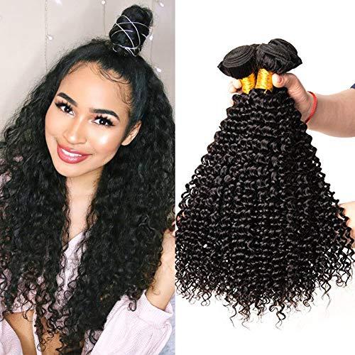 Musi capelli umani ricci extension capelli veri ricci,human hair kinky curly 3 bundle brasiliani capelli ricci vergini 8a capelli naturali 300g 20 22 24 inch